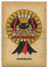 1968 Sun Valley Twisties ESSENDON Rosette (Keep This Card on the reverse)