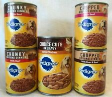 Pedigree Canned  Dog Food Lot of 5-  4/13.2 oz & 1/22 oz  Best By 5/18-3/19 .