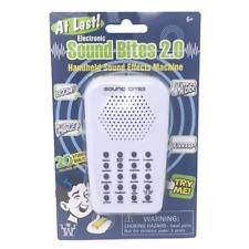 Westminster Electronic Sound Bites 2.0, Handheld Sound Effect Machine, White