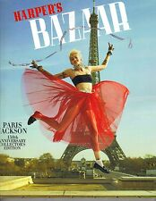 PARIS MICHAEL JACKSON Harper's Bazaar Magazine 4/17 LOTTIE KATE MOSS