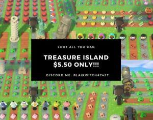 Animal Crossing New Horizons : Treasure Island