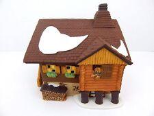 Kamm House #56171 House On The Crest Retired Dept 56 Alpine Village