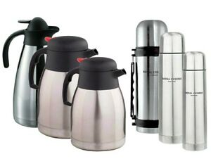 Isolating Thermos Flask Vacuum Jug Bottle For Hot Cold Tea Coffee Soup Traveling