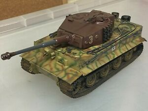 Tamiya Tiger 1, 1/35 scale, built & finished for display, fine airbrushed B