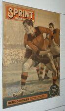SPRINT 01-12 1947 N°107 RUGBY TOULOUSE BERGOUGNAN JEU XIII FOOTBALL FIROUD
