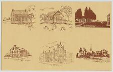 York PA Asbury United Methodist Church Market Street Artistic Vintage Postcard