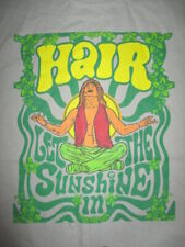 """HAIR """"Let The Sunshine In"""" (XL) T-Shirt AGE OF AQUARIUS Psychedelic"""