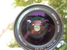 Pentax PZ-10 AF SLR w/ Sigma AF UC Zoom 28-70 F:3.5-4.5