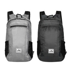 Waterproof Foldable Light School Office Outdoor Travel Hiking Camping Backpack'F