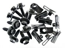 Ford Body Bolts & U-nut Clips- M8-1.25mm x 30mm Long- 13mm Hex- Qty.10 ea.- #155 (Fits: Ford Aspire)