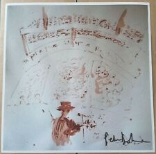 Blood painting Pete Doherty Hand Signed Photo Print Babyshambles The Libertines