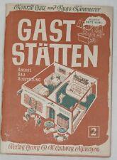 Fritz Hierl - Gaststätten : Anlage, Bau, Ausstattung. Band 2 - 1951