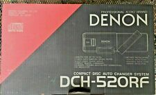 New ListingDenon Car Auto 10 Cd Model Dch-520 Professional Audio;Remote,wires,manual & Box