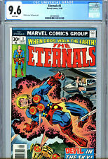 Eternals 3 CGC 9.6 NM+ White Pages - First Sersi