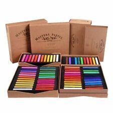 Painting Crayon Soft Pastel 12 24 36 48 Color Art Drawing Set Chalk Crayon Brush