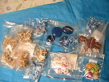 95 BUTTONS #B~BUTTERFLY~TEDDY BEAR~CROWNS~sew~doll~jewelry~arts LARGE VARIETY