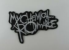 MY CHEMICAL ROMANCE EMBROIDERED MUSIC HEAVY METAL SEW IRON ON PATCH T-SHIRT AA
