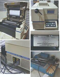 Gerber EDGE thermal printer, foils and 4B plotter