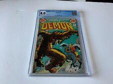 DEMON 6 CGC 8.0 NIGHT OF THE HOWLER DC COMICS 1973