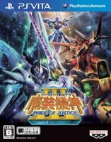 USED PS VITA Super Robot Og Saga Masou Kishin III Pride of Justice 40767 JAPAN