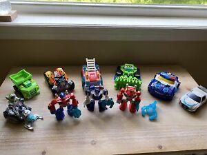 Playskool Transformer Rescue Bot LOT