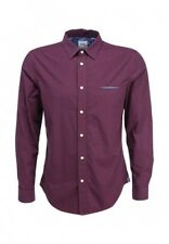 Burgundy Shirt Burton Menswear