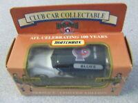 RARE MATCHBOX AFL Football Collectable Car CARLTON BLUES 1996 Limited FJ