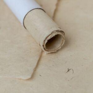 "100% Natural Handmade wrapping Tree Free Lokta Paper Gift Wrap 10 Sheet 20""X30"""