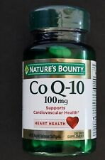 Nature's Bounty Co Q-10 100 mg 45 Rapid Release Softgels Exp 02/2019