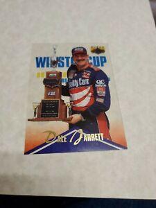 1996 CLASSIC CLEAR ASSETS DALE JARRETT CLEAR ACETATE CARD #62 NASCAR