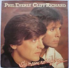 """Phil Everly & Cliff Richard - She Means Nothing To Me (7"""" American P/s Single)"""