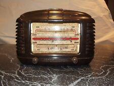 ASTOR MICKEY BAKELITE VINTAGE OLD VALVE RADIO WITH BACKPLATE