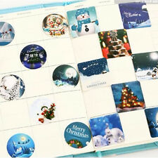 46× Winter Merry Christmas Diary Sticker Scrapbooking Seal Label Decoration