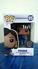 Funko Pop Games Overwatch Pharah #95 Blizzard Exclusive Rare FREE pop protector