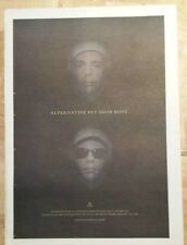 Pet shop boys alternative  1995 press advert Full page 27 x 38 cm mini poster
