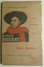 Steinlen, Aristide Bruant, Théophile Alexandre Steinlen, Chanson, Paris,