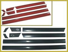 DOOR TRIMS MOULDING MIDDLE LEFT + RIGHT SET FOR AUDI 80 B3 86-91