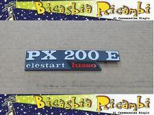 """3076 TARGHETTA COFANO LATERALE VESPA PX 200 """" PX200E """" ELESTART LUSSO"""
