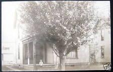 Coshocton Ohio~1907 House 308 S 9th Street~JOHNSON~RPPC