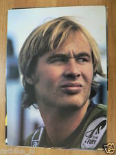 GREGG HANSFORD POSTER CC 1978 ROADRACE,PILOTE CONTINENTAL CIRCUS MOTO GP