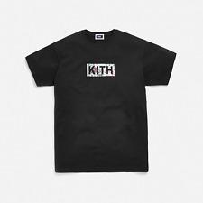 NEW Kith Floral Classic Logo Tee floral Bogo short sleeve T-shirt  #K42