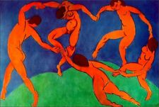Poster Matisse La Danza Carta Fotografica 100x70 Stampa Arte Quadro G028