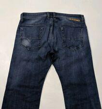 Diesel Safado Mens Jeans Indigo Regular Fit Stretch Denim 0848C W34 L32 RRP £150