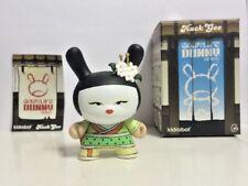 "Kidrobot Huck Gee Gold Life Dunny Japanese Geisha Limon 3"" Vinyl Art Toy Figure"