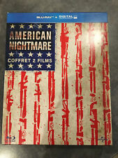"""AMERICAN NIGHTMARE Coffret 2 DVD """"NON Blu-ray"""" - FREE POST- mmoetwil@hotmail.com"""