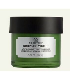 BN The Body Shop Drops of Youth Bouncy Sleeping Mask 75ml New Jar Size
