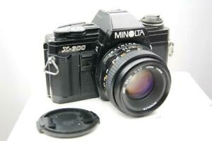 Minolta X300 + MD 50mm f1.7 lens, mint-condition, pristine, 3 months guarantee