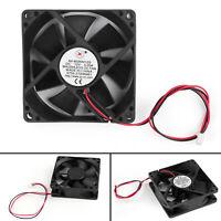 10x DC 12V 0.2A 80x80x25mm 8025S 80mm CPU System brushless Cooling Fan 2pin TG