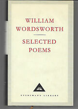 Selected Poems of William Wordsworth edited by D Walford Davies 2000 vgc with dj