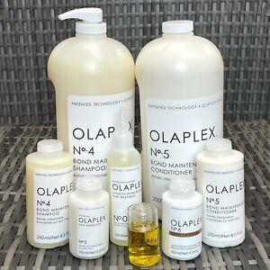 Olaplex Hair Care Repairs Treatment Oil Cream Shampoo Conditioner No3/4/5/6/7/0